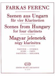 Scenes from Hungary for Four Clarinets