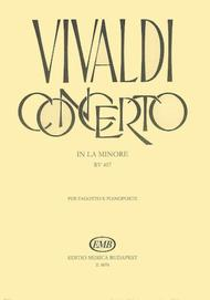 Concerto in A Minor for Bassoon, Strings and Continuo, RV497