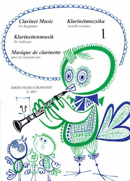 Clarinet Music for Beginners - Volume 1