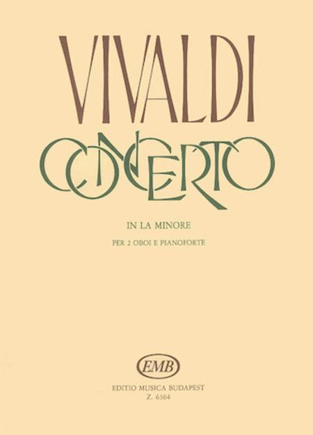 Concerto in A Minor for 2 Oboes, Strings and Continuo, RV 536