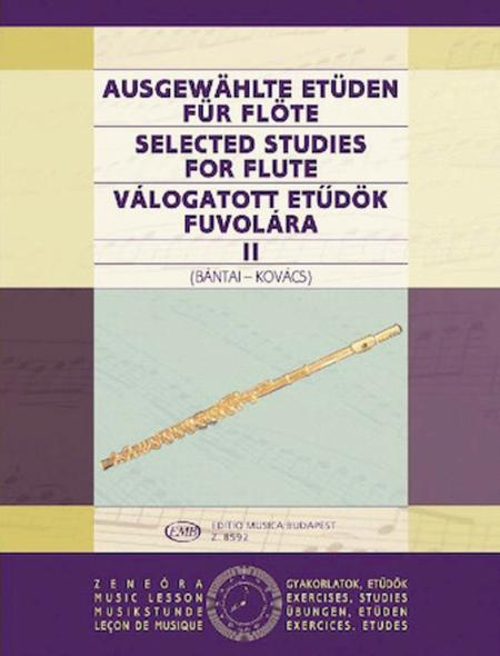 Selected Studies for Flute - Volume 2