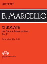 12 Sonatas for Flute and Basso Continuo, Op. 2 - Volume 1