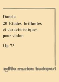 20 Etudes Brillantes Caracteristiques Op 73 Sheet Music