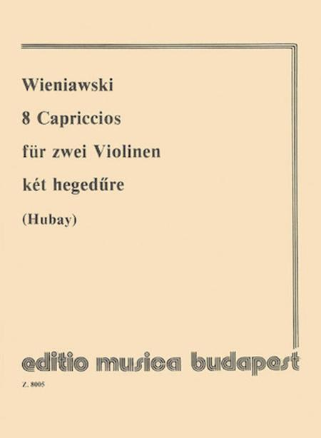 8 Capriccios for violin