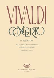 Concerto in sol minore per violino e archi, RV 3