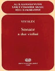 Sonate for Two Violins, RV 68, 70, 71, 77