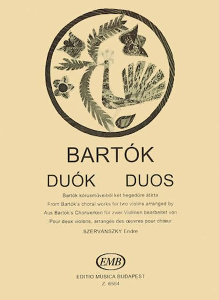Duos (From Two-Part Choral Works)