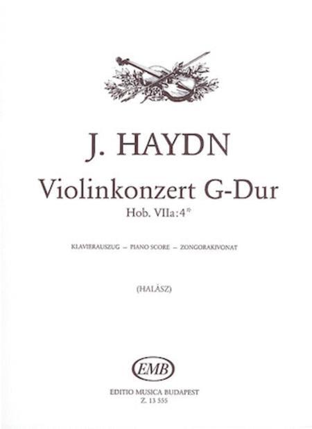 Violin Concerto in G major, Hob. Vlla:4