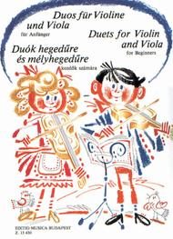 Duets for Violin and Viola for Beginners - Volume 1