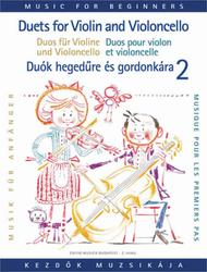 Duets for Violin and Violoncello for Beginners - Volume 2