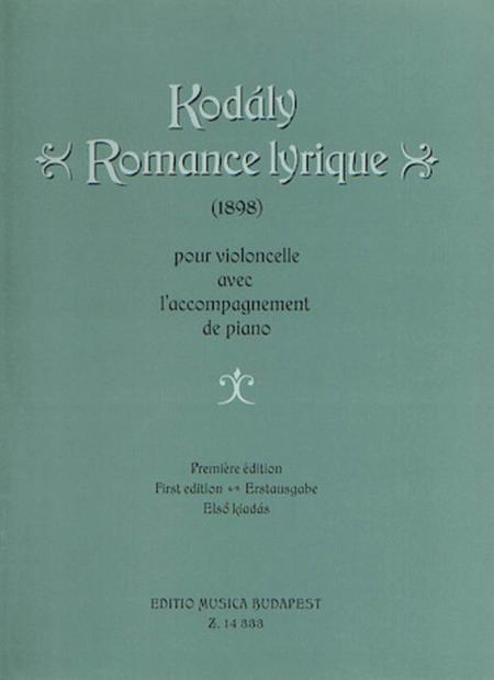 Romance Lyrique (First Edition)