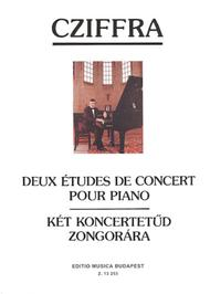 Two Concert Etudes: 1. Rimsky-Korsakov: Le vol du bourdon 2: J. Strauss: Tritsch-Tratsch Polka