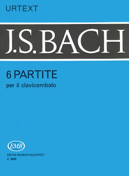 Six Partitas for Harpsichord or Piano BWV 825-830