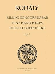 Nine Pieces Op. 3