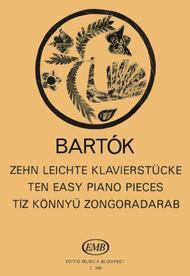 Zehn leichte Klavierstucke