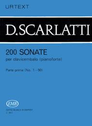 200 Sonate per clavicembalo (pianoforte) 1
