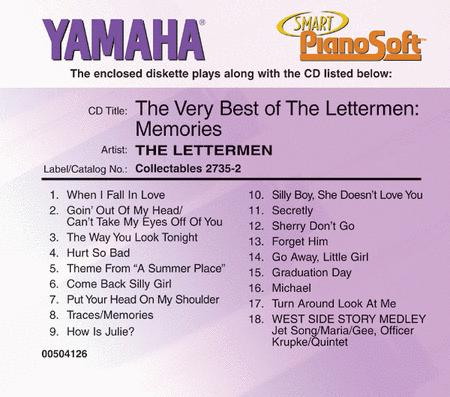 The Very Best of The Lettermen - Piano Software
