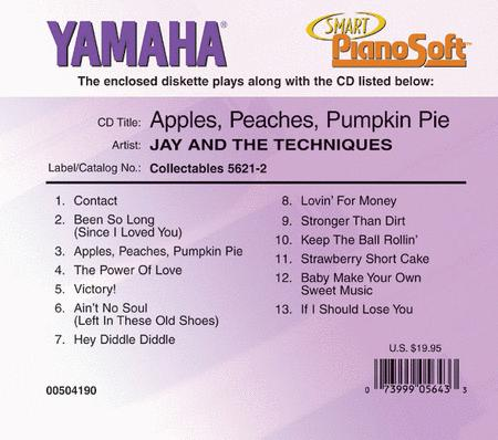 Jay and the Techniques - Apples, Peaches, Pumpkin Pie - Piano Software
