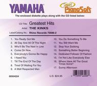 The Kinks Greatest Hits - Piano Software