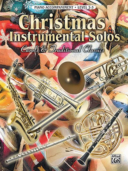 Christmas Instrumental Solos - Piano Accompaniment (Book only)
