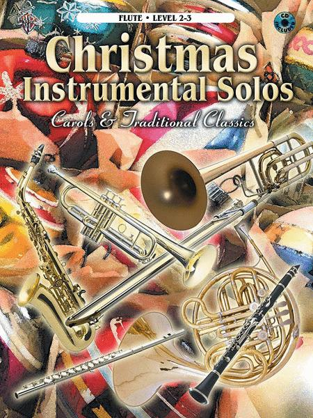 Christmas Instrumental Solos - Flute (Book & CD)