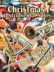 Christmas Instrumental Solos - Clarinet (Book & CD)