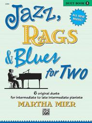 Jazz, Rags & Blues for Two, Book 3