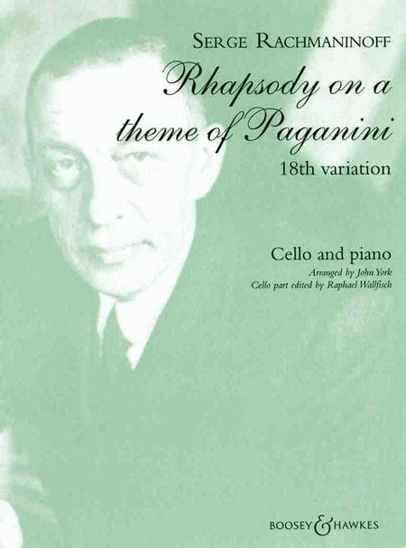Rhapsody on a Theme of Paganini, Op. 43