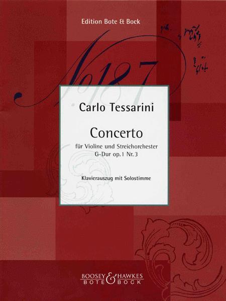 Concerto in G, Op. 1, No. 3