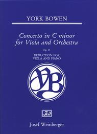 Viola Concerto in C Minor, Op. 25