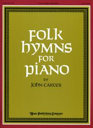 Folk Hymns For Piano