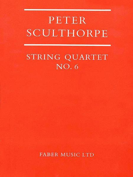 String Quartet No. 6 - Score
