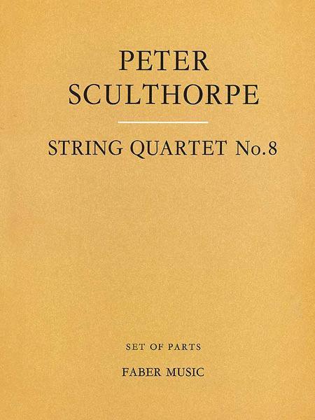 String Quartet No. 8 - Parts
