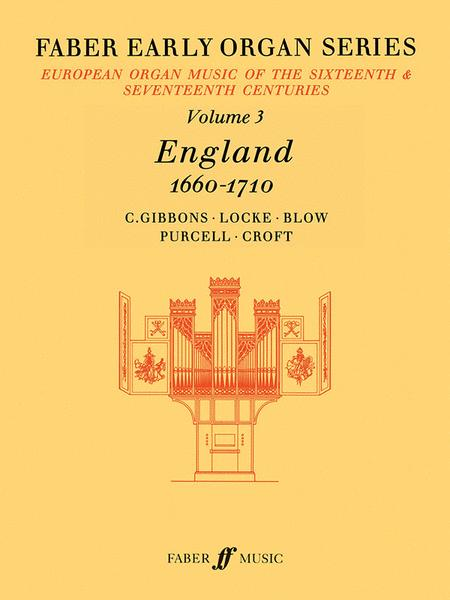 Faber Early Organ, Volume 3