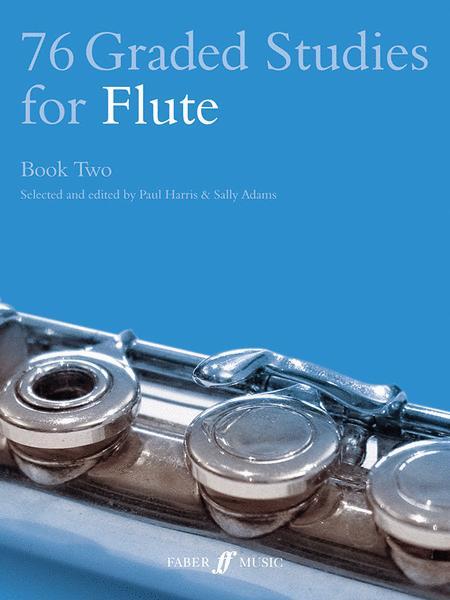 76 Graded Studies for Flute, Book 2