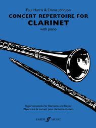 Concert Repertoire for Clarinet
