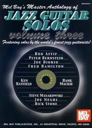 Master Anthology of Jazz Guitar Solos Volume 3