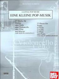 A Little Pop Music for Cello
