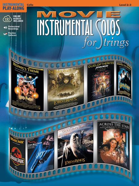 Movie Instrumental Solos for Strings - Cello