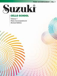 Suzuki Cello School, Volume 7 (Piano accompaniment)