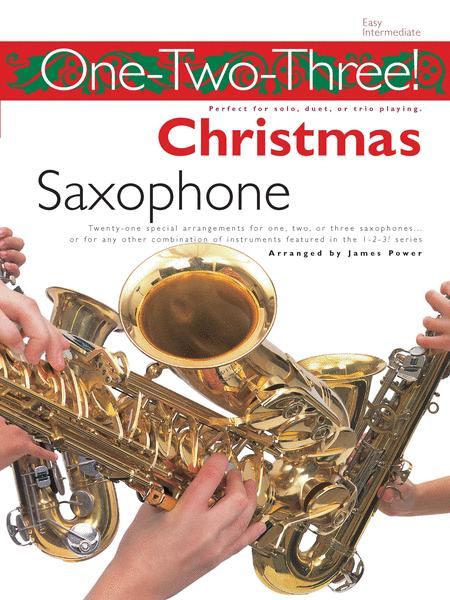 One-Two-Three! Christmas - Saxophone