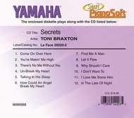 Toni Braxton - Secrets - Piano Software