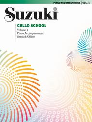 Suzuki Cello School Piano Accompaniment, Volume 4