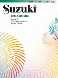 Suzuki Cello School Piano Accompaniment, Volume 5