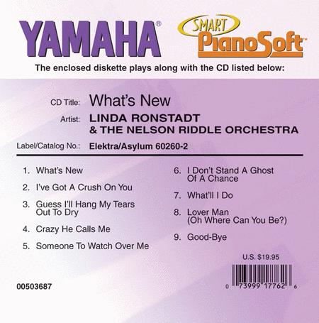 Linda Ronstadt & The Nelson Riddle Orchestra - What's New - Piano Software