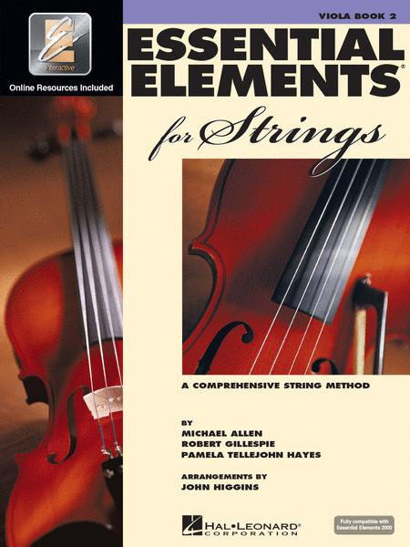 Essential Elements for Strings - Viola Book 2 with EEi