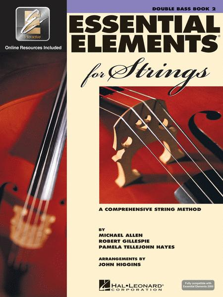 Essential Elements for Strings - Double Bass Book 2 with EEi