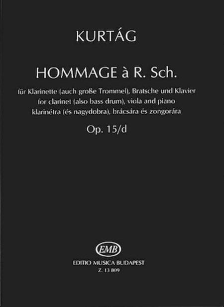 Hommage a R. Sch., Op. 15d