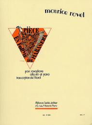 Piece en Forme de Habanera - Saxophone Alto Mib et Piano