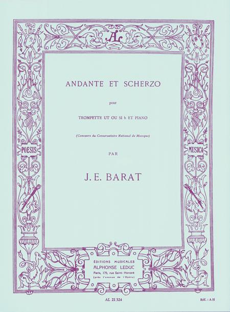 Andante et Scherzo - Trompette Ut ou Sib et Piano